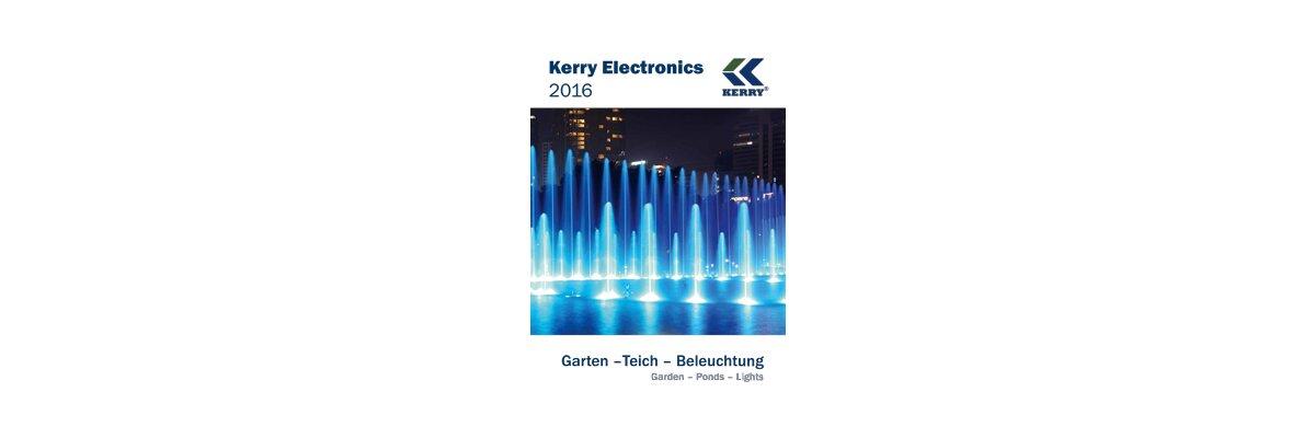 NEU - KERRY KATALOG 2016 - NEU Kerry Electronics Katalog 2016