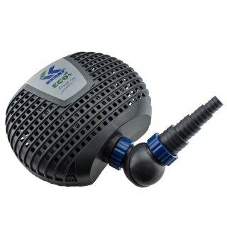 Kerry Electronics Teichpumpe 5000L, Eco Plus, 22Watt 300cm Förderhöhe