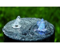 """LED ring for water features with blue light, 3/4"""" tubes    kel0322"""