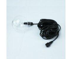 Schwimmkugel für Teich und Pool, 12V, 10W-Halogen kel0411