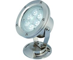 under water spot with 6 blue LED -  kel0921