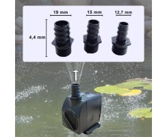 Wasserspielpumpe, Brunnenpumpe, 1200l/h kep1200l