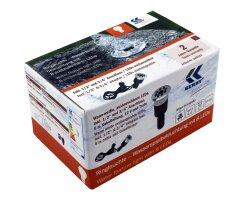 Wasserspielleuchte 1/2 + 3/4 Zoll, warm-weiße LEDs mit wechselbarem LED-Modul kel0353