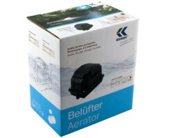 KEA0600 Belüfter / Luftpumpe / Membranpumpe für Aquarium und Teich 10l/min  600l/h 10W