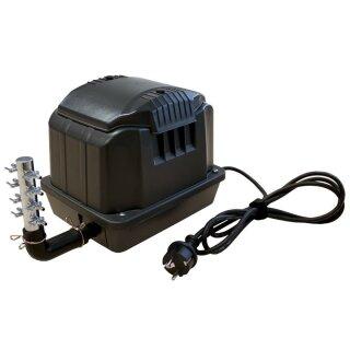 KEA3600 Belüfter / Luftpumpe / Membranpumpe für Teich & Aquarium 60l/min  3600l/h nur 35W - Hochleistungsgerät