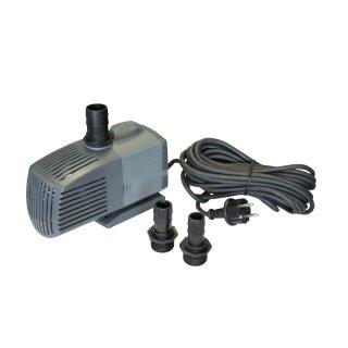 KEQ4000F ECO Teichpumpe, leise, 4000l/h nur 70W, 230V auch für Salzwasser